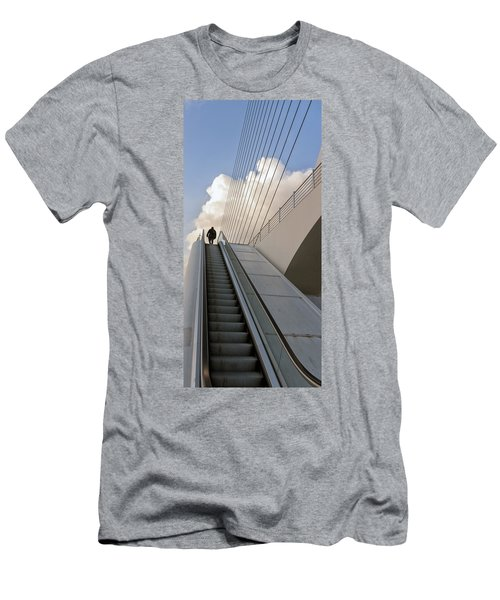 Elevator Men's T-Shirt (Slim Fit) by Mike Santis