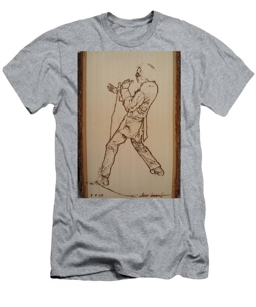 Elvis Presley - If I Can Dream Men's T-Shirt (Athletic Fit)