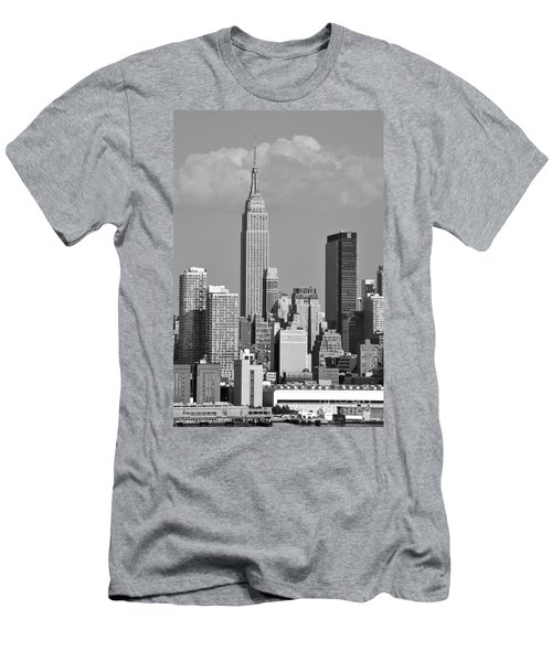 Empire State Building Men's T-Shirt (Athletic Fit)