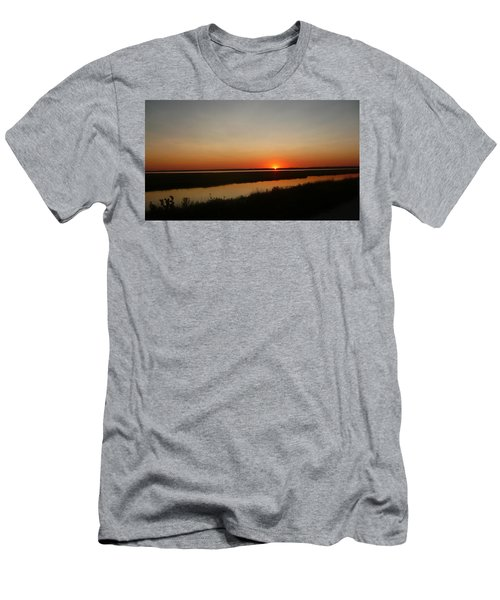 Ending Of A Day Men's T-Shirt (Athletic Fit)