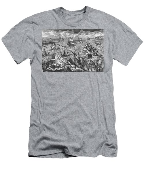 England S Great Storm Men's T-Shirt (Athletic Fit)
