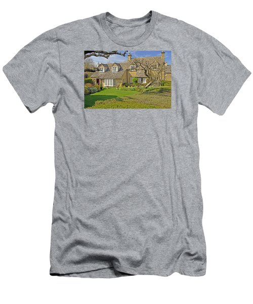 English Cottage Men's T-Shirt (Athletic Fit)