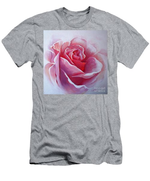 English Rose Men's T-Shirt (Slim Fit) by Sandra Phryce-Jones