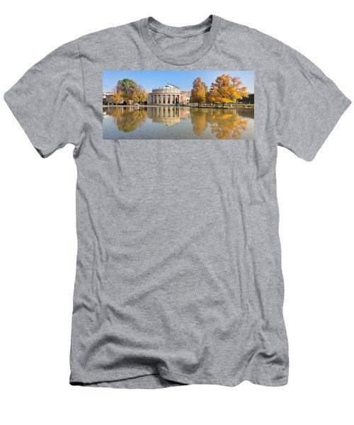 Entertainment Building Men's T-Shirt (Athletic Fit)