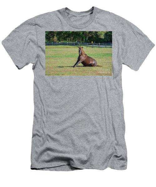 Equestrian Rollick Men's T-Shirt (Athletic Fit)