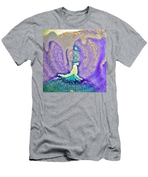 Eruption Purpleteal Men's T-Shirt (Athletic Fit)