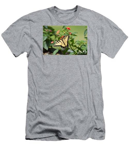 Evening Beauty Men's T-Shirt (Slim Fit) by Debbie Green