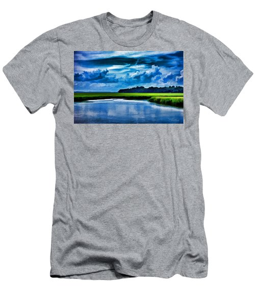 Evening On The Marsh Men's T-Shirt (Athletic Fit)