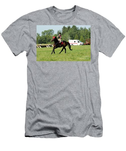 Eventing Fun Men's T-Shirt (Athletic Fit)