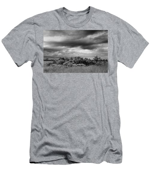 Everglades Storm Bw Men's T-Shirt (Athletic Fit)