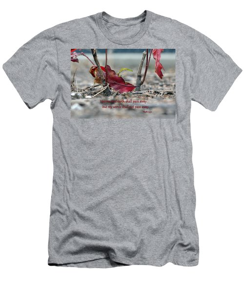 Men's T-Shirt (Slim Fit) featuring the photograph Everlasting Words by Larry Bishop