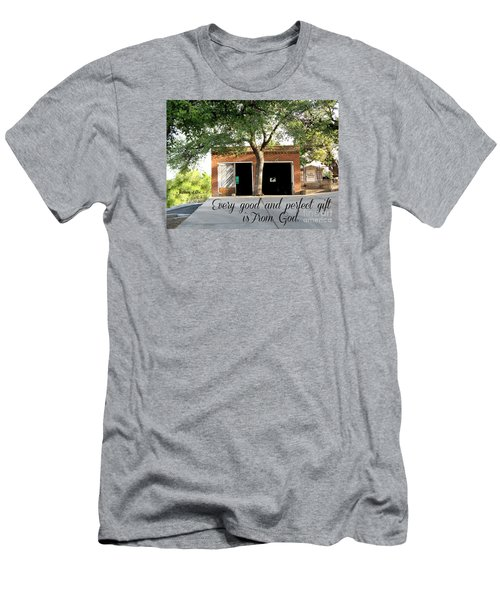 Men's T-Shirt (Athletic Fit) featuring the photograph Every Good And Perfect Gift by Beauty For God