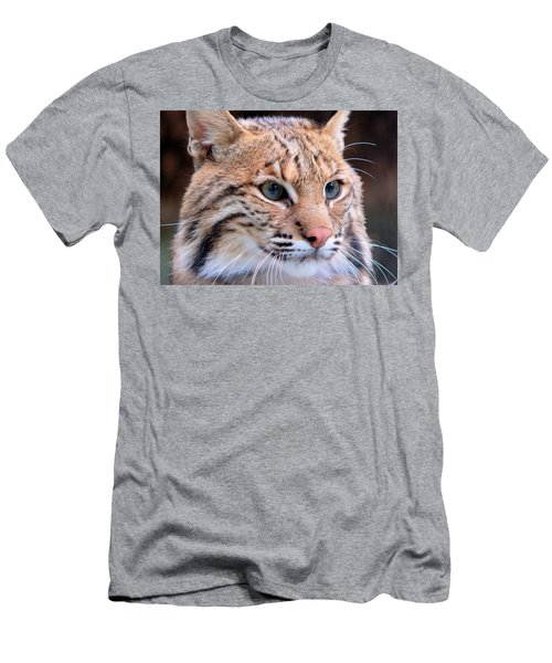 Eyes Of A Lynx Men's T-Shirt (Athletic Fit)