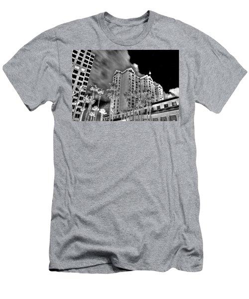 Fairmont From Plaza De Cesar Chavez Men's T-Shirt (Athletic Fit)