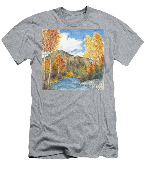 Fall Aspens Men's T-Shirt (Athletic Fit)
