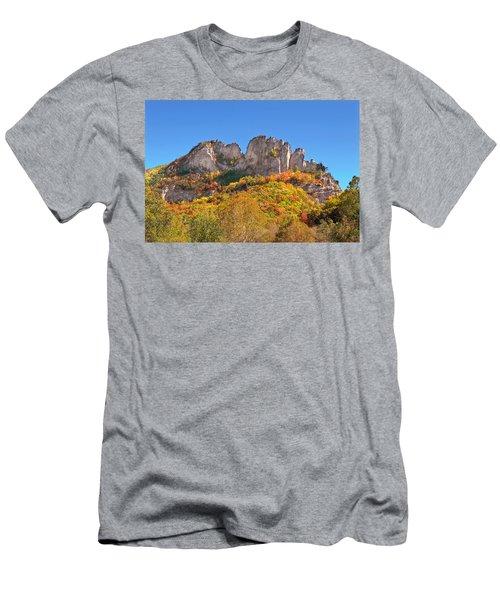 Fall At Seneca Rocks Men's T-Shirt (Athletic Fit)