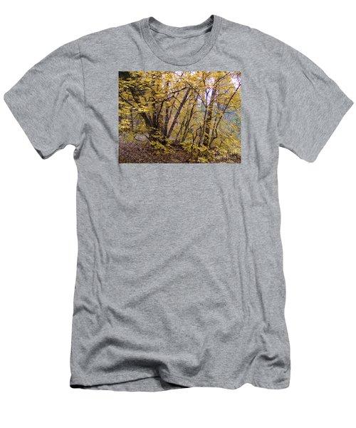 Fall Colors 6435 Men's T-Shirt (Slim Fit) by En-Chuen Soo