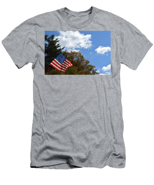 Fall Flag Men's T-Shirt (Athletic Fit)