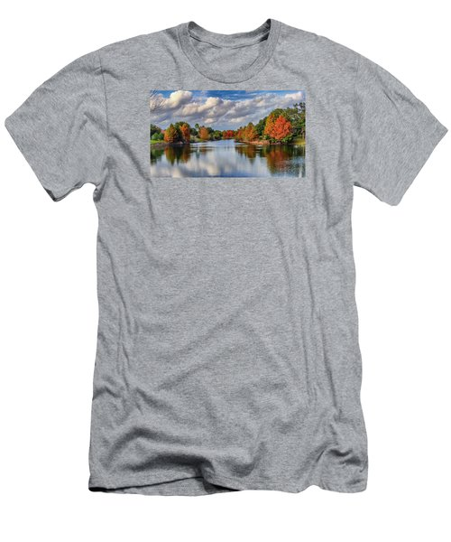Fall In Florida Men's T-Shirt (Athletic Fit)