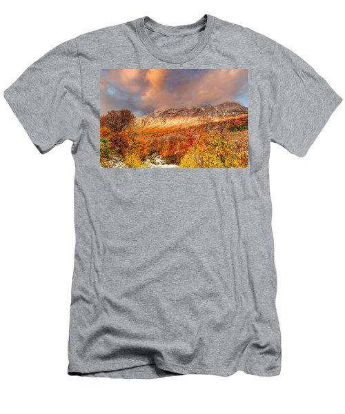 Fall On Display Men's T-Shirt (Athletic Fit)