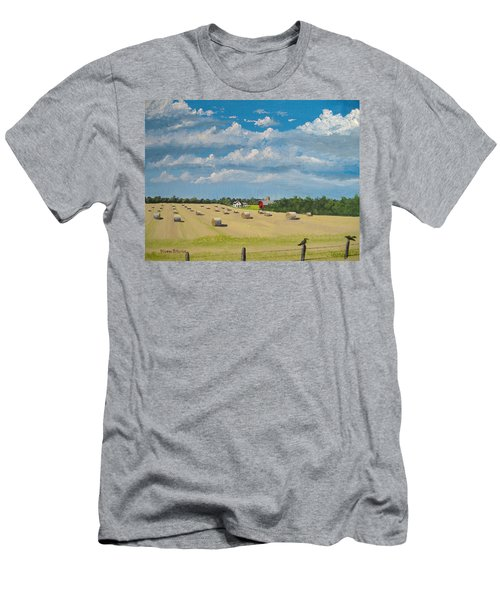 Fall Rounds Men's T-Shirt (Athletic Fit)
