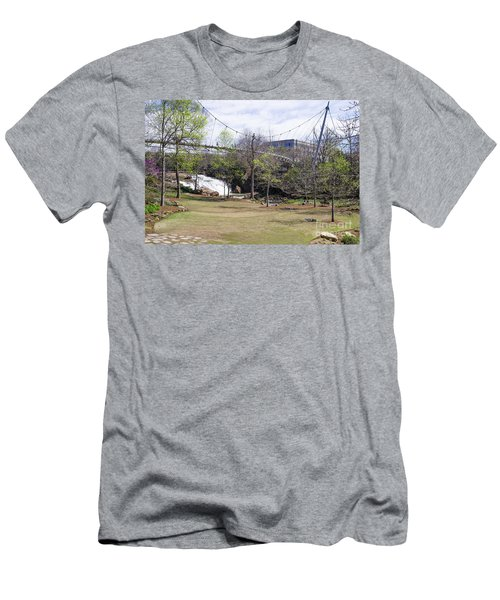 Falls Park On The Reedy Greenville Men's T-Shirt (Athletic Fit)