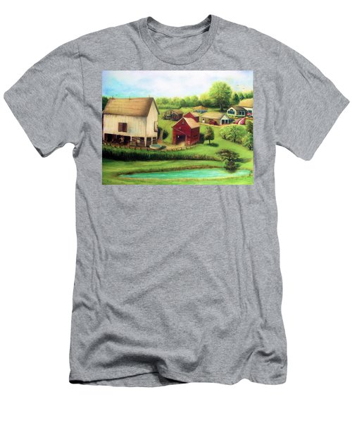 Farm Men's T-Shirt (Slim Fit) by Bernadette Krupa