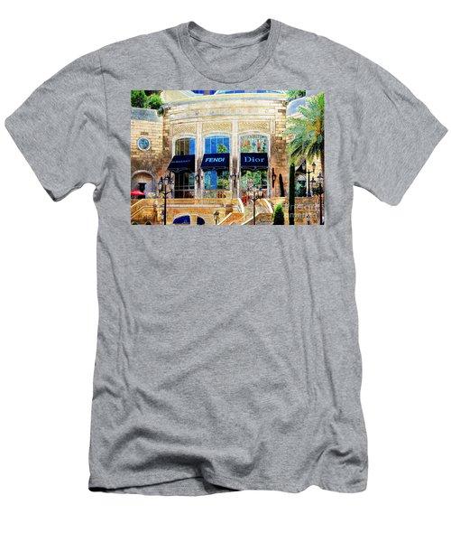 Fashion Vegas Style Men's T-Shirt (Athletic Fit)