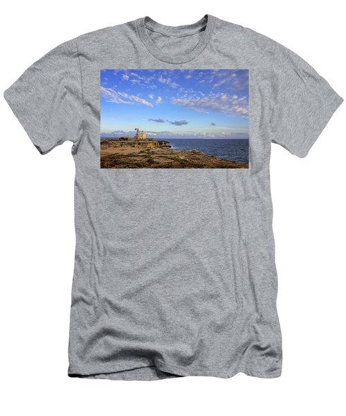 Favignana - Lighthouse Men's T-Shirt (Athletic Fit)