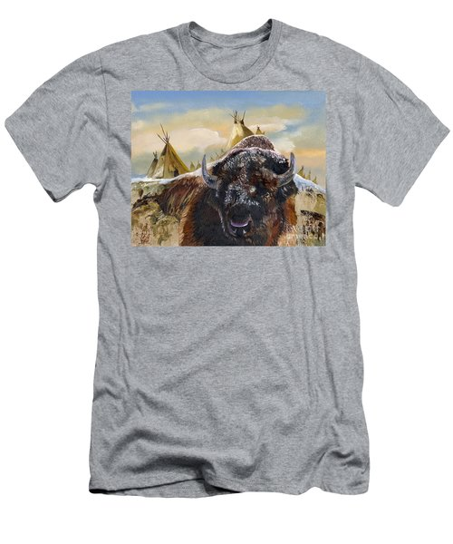 Feed The Fire Men's T-Shirt (Athletic Fit)