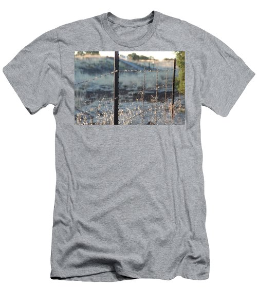 Fence Men's T-Shirt (Athletic Fit)