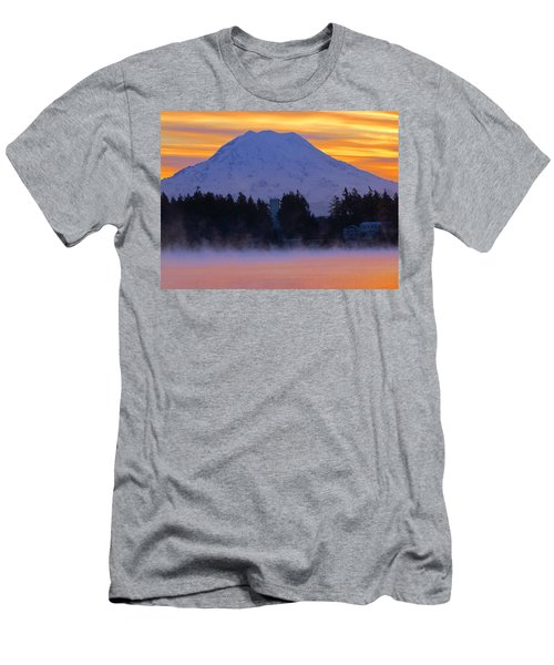 Fiery Dawn Men's T-Shirt (Athletic Fit)