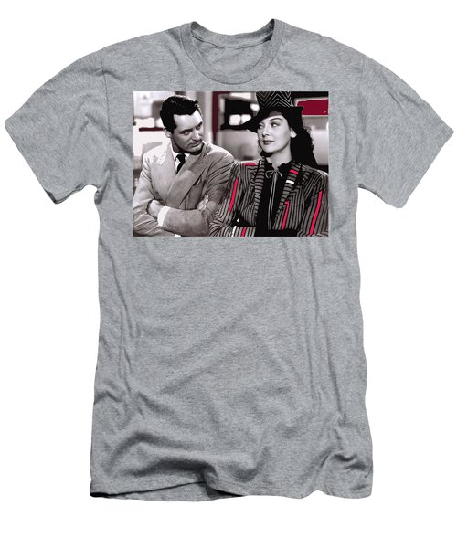 Film Homage Cary Grant Rosalind Russell Howard Hawks His Girl Friday 1940-2008 Men's T-Shirt (Athletic Fit)