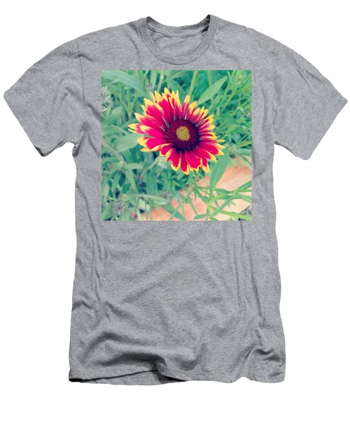 Fire Daisy Men's T-Shirt (Athletic Fit)