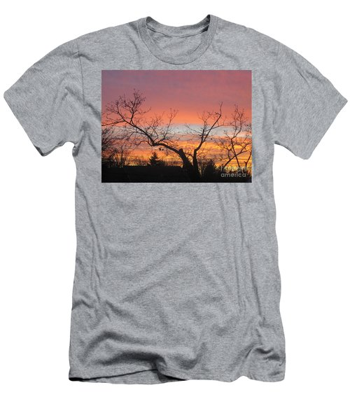 Fire In The Sky 1 Men's T-Shirt (Athletic Fit)