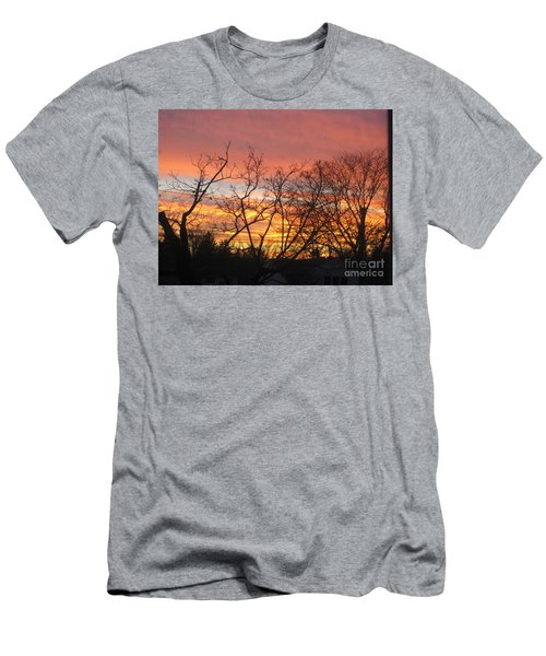 Fire In The Sky 2 Men's T-Shirt (Athletic Fit)