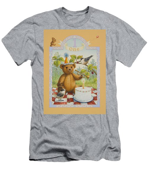 First Birthday Men's T-Shirt (Athletic Fit)