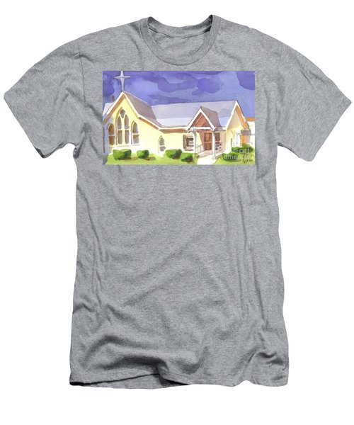 First Presbyterian Church II Ironton Missouri Men's T-Shirt (Athletic Fit)