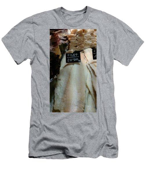 Fish Filets Men's T-Shirt (Athletic Fit)