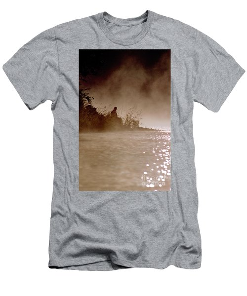 Fisher In The Mist Men's T-Shirt (Athletic Fit)