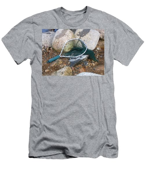 Fishing Net Men's T-Shirt (Athletic Fit)