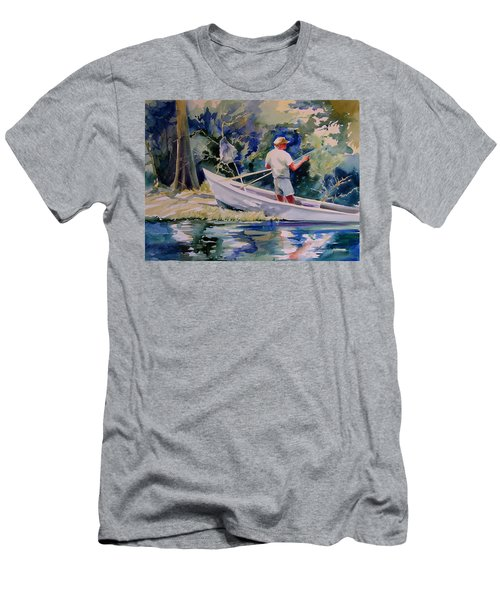 Fishing Spruce Creek Men's T-Shirt (Athletic Fit)
