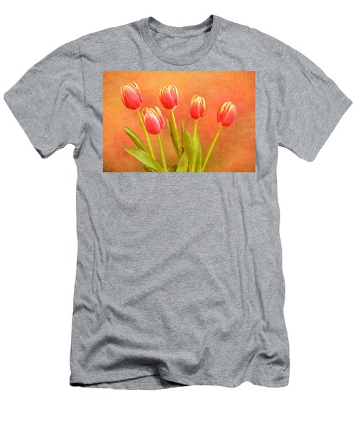 Five Tulips Men's T-Shirt (Athletic Fit)