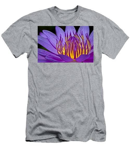 Flaming Heart Men's T-Shirt (Athletic Fit)