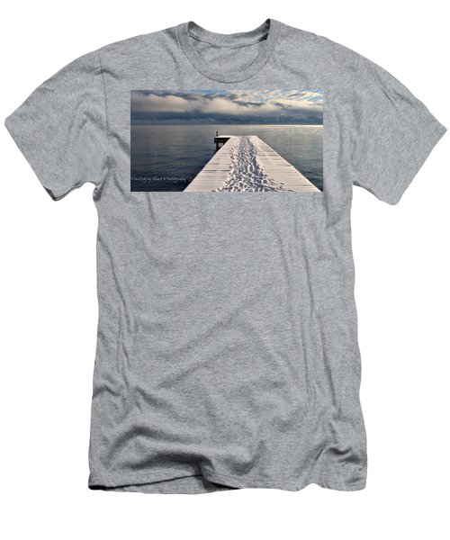 Flathead Lake Men's T-Shirt (Athletic Fit)
