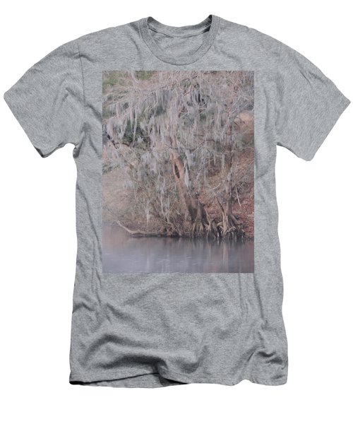 Men's T-Shirt (Slim Fit) featuring the photograph Flint River 2 by Kim Pate