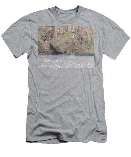 Men's T-Shirt (Slim Fit) featuring the photograph Flint River 5 by Kim Pate