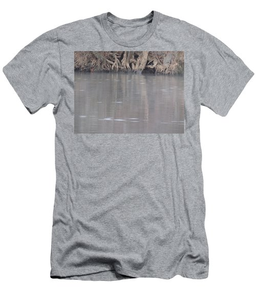 Men's T-Shirt (Slim Fit) featuring the photograph Flint River 6 by Kim Pate