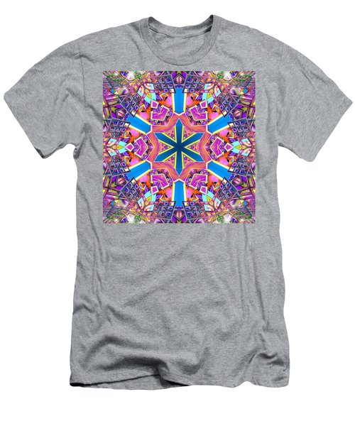 Floral Dreamscape Men's T-Shirt (Athletic Fit)