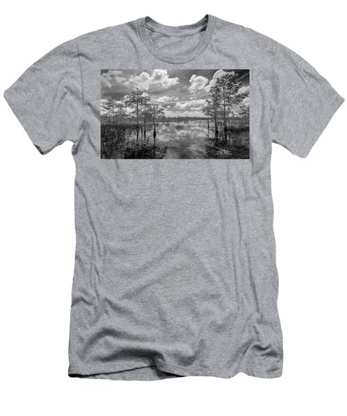 Florida Everglades 5210bw Men's T-Shirt (Athletic Fit)